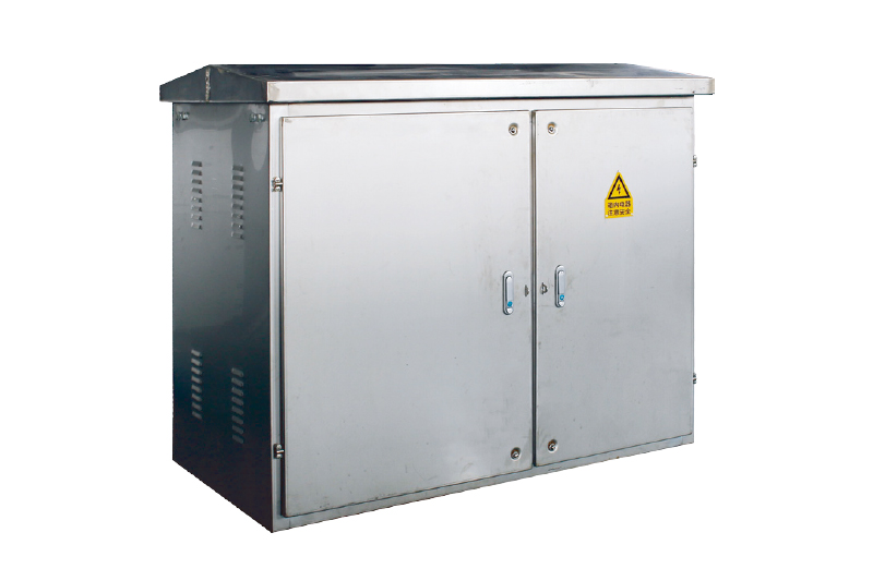 Integrated distribution cabinet