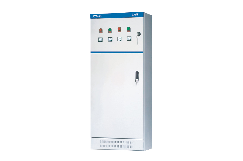 Low voltage dual power distribution cabinet