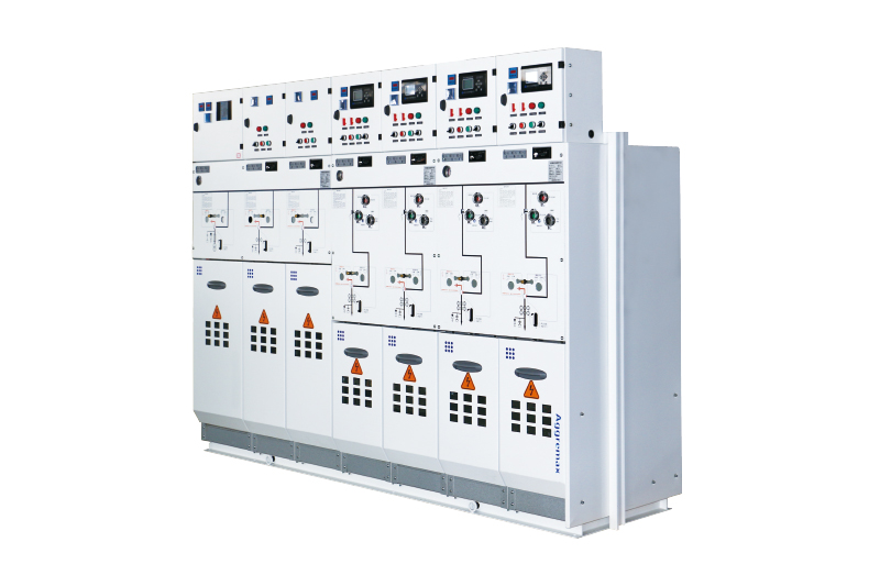SF6 gas insulated metal enclosed switchgear
